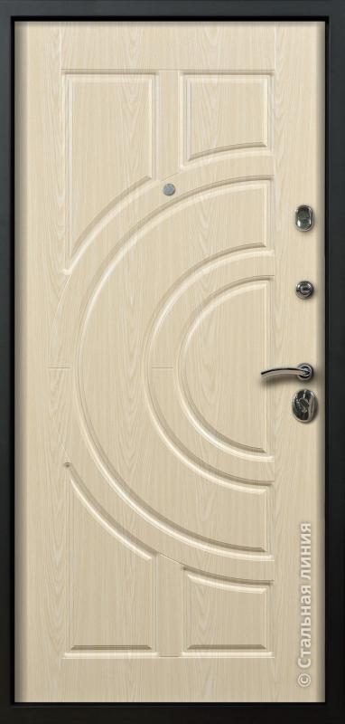 """Входная дверь """"Луна Лайт"""" Стальная линия"""