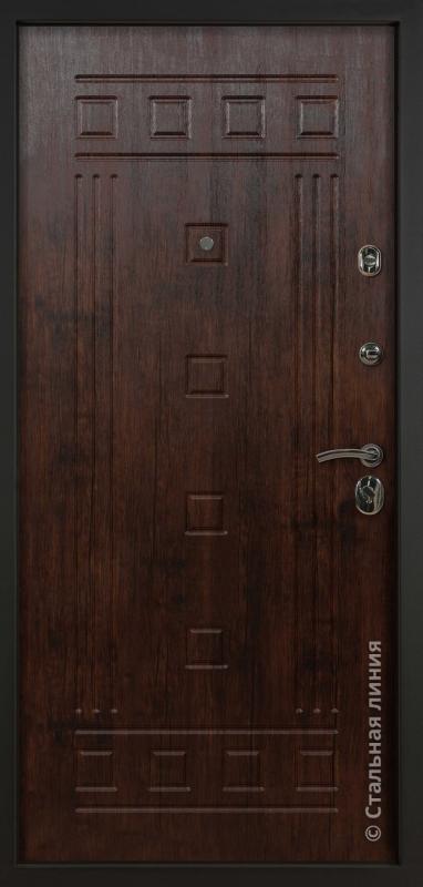 """Входная дверь """"Стиль"""" Стальная линия"""