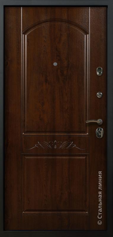 """Входная дверь """"Милано Лайт"""" Стальная линия"""