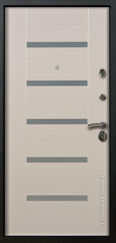 """Входная дверь """"Гамбург"""" Стальная линия"""