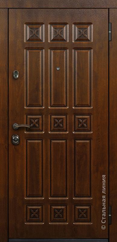 """Входная дверь """"Элит"""" Стальная линия"""