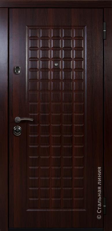 """Входная дверь """"Прато"""" Стальная линия"""