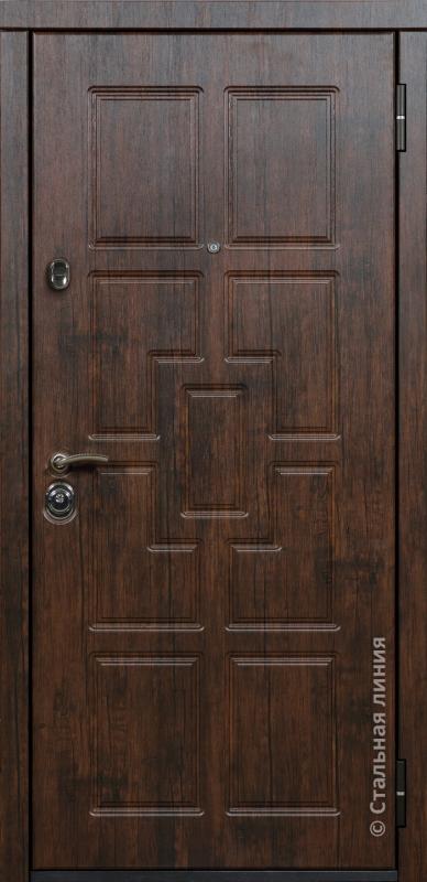 """Входная дверь """"Шервуд"""" Стальная линия"""