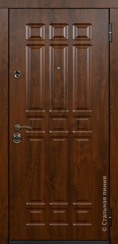 """Входная дверь """"Бостон"""" Стальная линия"""